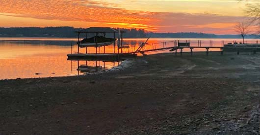 Boat Dock Repair Lake Greenwood