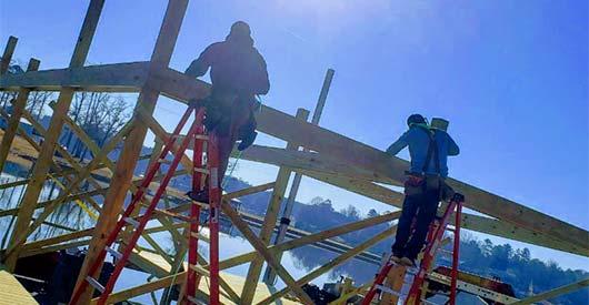 Build Boat Dock Lake Greenwood