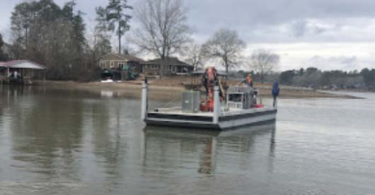 Seawall Repair Lake Greenwood